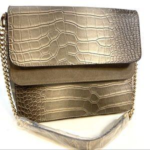 ENZO ANGIOLINI REPTILE PRINT Shoulder Bag NWOT